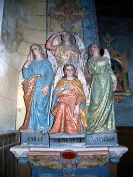 L'église de Rennes-le-Château cible de nouvelles dégradations - Page 2 Eglise_mm_anges_1_small