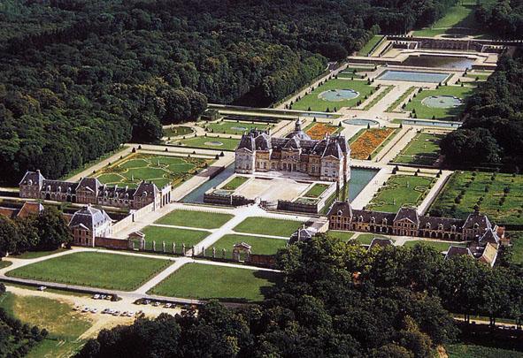 Fouquet le ch teau de vaux rennes le ch teau archive - Jardin moderne rennes bus versailles ...