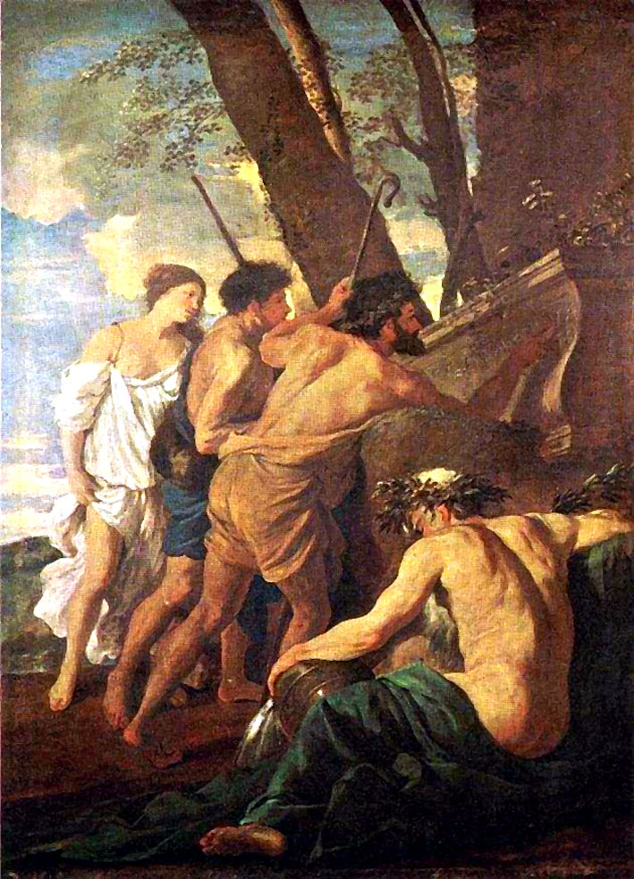 Les bergers d 39 arcadie plusieurs versions - Epoca del clasicismo ...